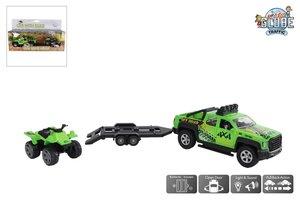 Kids Globe - Terreinwagen met quad