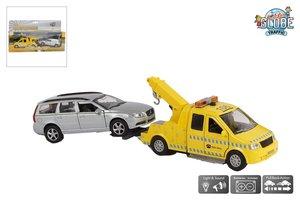 Kids Globe Afsleepwagen met Volvo V70 met licht/geluid (27cm)