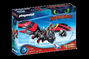 Playmobil PM DreamWorks Dragon Racing - Hikkie & Tandloos 70727