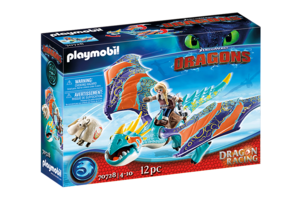 Playmobil PM DreamWorks Dragon Racing - Astrid & Stormvlieg 70728