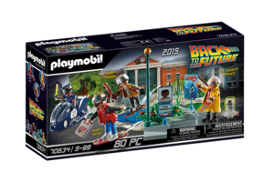 Playmobil PM Back To The Future II - Hoverboard achtervolging 70634