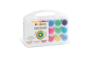 Primo Primo Ready Mix Poster Paint 18x25ml in PVC koffer