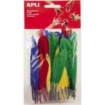 """APLI CREA Veren """"Type Gans"""" verschillende afmetingen - 100stuks (assorti)"""