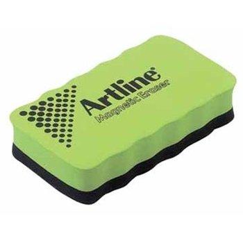 Artline magnetische bordenwisser - groen