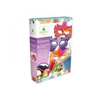 Au Sycomore Artissimo - Scratch Art - maskers (6stuks)