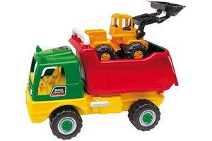 AVC Truck met bulldozer