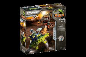 Playmobil PM Dino Rise - Saichana Verdediging van de vechtersbazen 70626