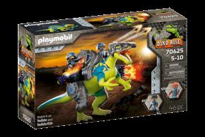 Playmobil PM Dino Rise - Spinosaurus Dubbele verdedigingskracht 70625