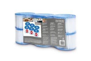 Intex Cartridge voor filterpomp (Type S1) - 6 stuks