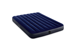 Intex Intex Dura-beam Standard luchtbed (137 x 191 x 25cm) - nachtblauw