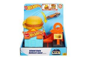Mattel Hot Wheels City - Downtown Burger Dash Playset