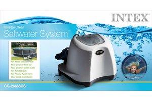 Intex Zoutwatersysteem 12V - KRYSTAL CLEAR (max. 26500 liter)