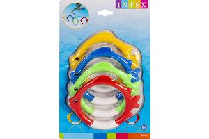 Intex Onderwater Ringen vis - 4stuks