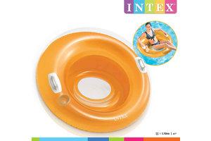 Intex Lounge (Ø 119cm) drijfstoel - SIT 'N (oranje OF geel)