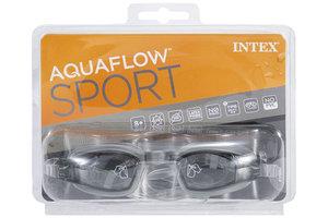 "Intex Intex Zwembril ""Free Style"" Aquaflow Sport (zwart OF paars OF blauw)"