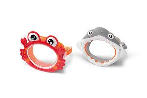 "Intex Intex Duikbril ""Fun"" Aquaflow Play (krab OF haai)"