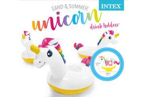 Intex Intex drinkhouder Unicorn - 3 stuks