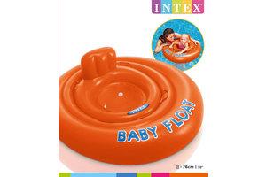 Intex Zwemring (Ø 76cm) babysitter - BABY FLOAT (oranje)