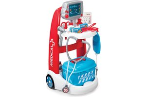 Smoby Smoby Doktersset - Medical Rescue Electronic Trolley