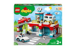 LEGO LEGO DUPLO Parkeergarage en wasstraat - 10948