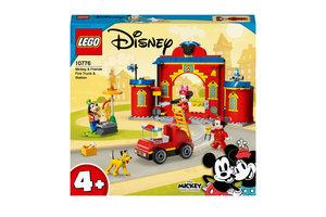 LEGO LEGO Disney Mickey Mouse Brandweerkazerne & auto - 10776