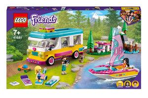LEGO LEGO Friends Boscamper en zeilboot - 41681