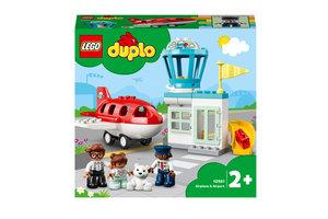 LEGO LEGO DUPLO Vliegtuig & vliegveld - 10961