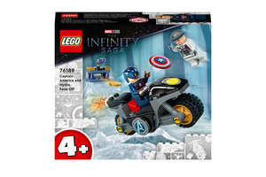 LEGO LEGO Marvel Super Heroes Captain America and Hydra face-off - 76189