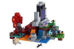LEGO LEGO Minecraft Het Verwoeste Portaal - 21172