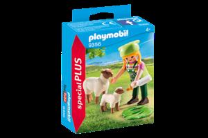 Playmobil PM Special PLUS - Schapenhoedster 9356