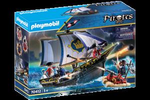Playmobil PM Pirates - Zeilschip van de soldaten 70412