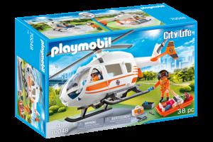 Playmobil PM City Life - Eerste hulp helikopter  70048