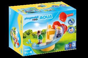 Playmobil PM 1.2.3 Aqua - Waterglijbaan 70270