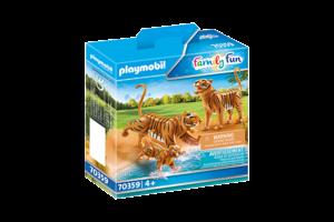 Playmobil PM Family Fun - 2 Tijgers met baby 70359