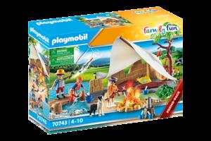 Playmobil PM Family Fun - Familie op kampeertocht 70743