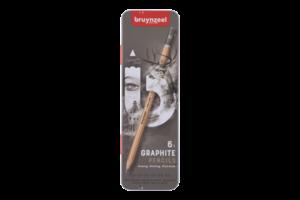 Bruynzeel Bruynzeel Expression Grafietpotloden - 6stuks (HB/1B/2B/4B/6B/8B)
