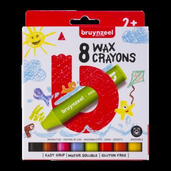 Bruynzeel Bruynzeel Kids Waskrijtjes - 8stuks