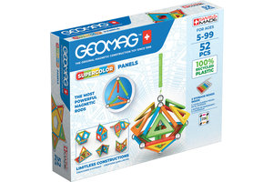 Geomag Geomag SuperColor Panels Recycled 52 delig
