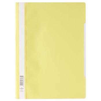 Durable Bestekmap PP/A4 met transparante voorkant - geel