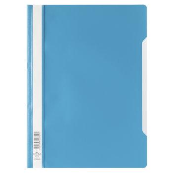 Durable Bestekmap PP/A4 met transparante voorkant - blauw