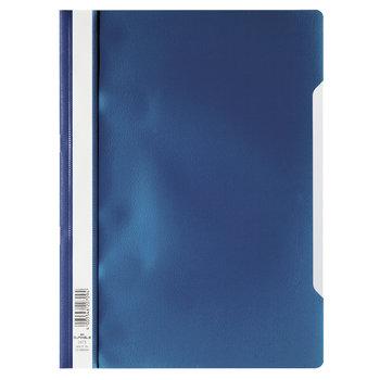 Durable Bestekmap PP/A4 met transparante voorkant - donkerblauw