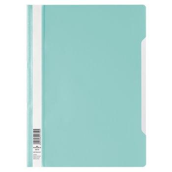 Durable Bestekmap PP/A4 met transparante voorkant - turquoise