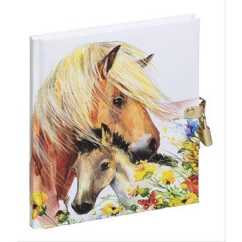 Pagna Pagna Dagboek met slot - Paarden