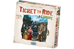 Ticket to Ride - 15th Anniversary Deluxe - Europa