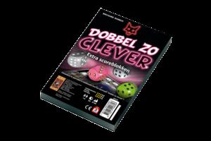 999 Games Scoreblok Dobbel zo Clever - 2stuks