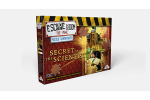 Identity Games Escape Room The Game - Puzzle Adventures - Secret of the Scientist