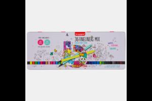 Bruynzeel Bruynzeel Fineliner Set - 36stuks (kleurenmix)