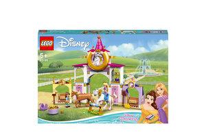 LEGO LEGO Disney Princess Belle en Rapunzel's koninklijke paardenstal - 43195