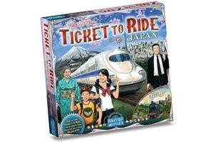 Asmodee Ticket to Ride - Map Collection Vol. 7 - Japan & Italië