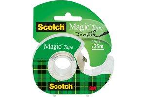 Scotch Scotch Magic Tape 19mm x 25m op afroller